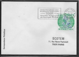 Monaco - Lettre - TB - Machine Stamps (ATM)