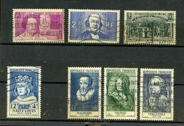 FRANCE - TIMBRES OBLITERES BONNE COTE - 438.439..444.989.1028.1029.1030  - ANNEES 1939 - 1954 - 1955 - Sonstige