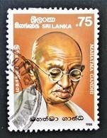 MAHATMA GANDHI 1988 - OBLITERE - YT 848 - MI 841 - Sri Lanka (Ceylon) (1948-...)