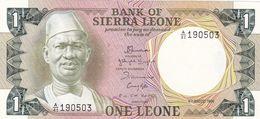SIERRA LEONE -  1 Leone 1984 - Etat Neuf - Sierra Leone