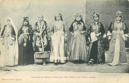 TURQUIE - ORFA - COSTUME DES FEMMES RICHES DE LA VILLE ET DES TRIBUS VOISINES - CPA ETHNIQUE - Türkei