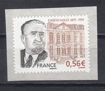 Eugène Vaillé, AUTO ADHESIF N° 369, 2009  Neuf **   Grande Marge - Luchtpost
