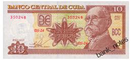 CUBA 10 PESOS 2015 Pick 117q Unc - Cuba