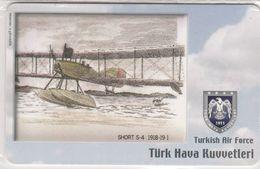 Turkey, TR-C-076, Turkish Air Force, Short S-4 1918-19, Airplane, 2 Scans.  Mint In Blister - Türkei