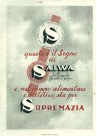 PUB 318 - PUBBLICITA BISCOTTI SAIWA - 1938 - Reclame