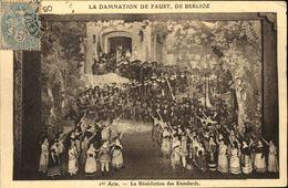 LA DAMNATION DE FAUST  1° Acte  La Bénédiction Des Etendards - Opera