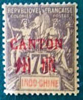 Canton Timbre Neuf * * (MNH) Numéro 14, Cote 60 Euros. - Canton (1901-1922)