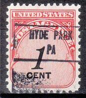 USA Precancel Vorausentwertung Preo, Locals Pennsylvania, Hyde Park 853 - Estados Unidos