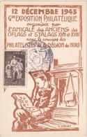 12 Décembre 1943 - Gde Exposition Philatélique - Region Du Nord - Stamped In Lille - Lille
