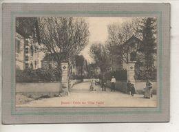 CPA - (21) BEAUNE - Aspect De L'entrée Du Quartier Des Villas Fondet En 1907 - Beaune