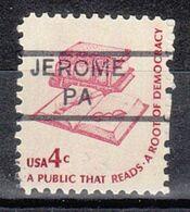 USA Precancel Vorausentwertung Preo, Locals Pennsylvania, Jerome 852 - Estados Unidos