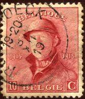 COB  168 (o)  / Yvert Et Tellier N° : 168 (o)  [dentelure : 11½ X 11] - 1919-1920 Albert Met Helm