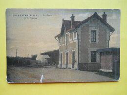 Cellettes ,gare ,toilée Couleur ,état - Other Municipalities