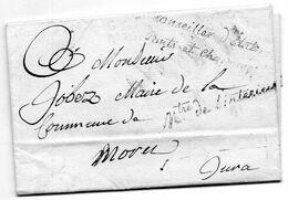"""Franchise """"Ministre De L'Intérieur"""" Et Conseiller D'Etat/Ponts Et Chaussées"""".L.A.C. Du 11/4/1810. - 1801-1848: Vorläufer XIX"""