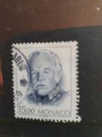 Monaco 1988  Yt 1675 Prince Rainier  Oblitere(jv) - Monaco