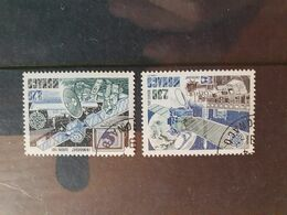 Monaco 1991  Yt 1768/9   Europa  Oblitere(jv) - Monaco