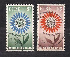 Cept 1964 Irlande Ireland Yvertn° 167-68 (o) Oblitéré  Cote 7,50 Euro - 1964