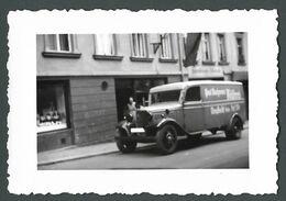 CAMION De Livraison Publicitaire Ancien Marque à Identifier  - PHOTO Originale - Automobile