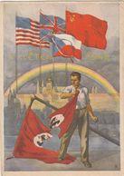 9.mai 1945 - Ende Des Krieges  -  Flagge Mit Hakenkreuz , Drapeau Avec Svastika , Flag With Swastika - War 1939-45