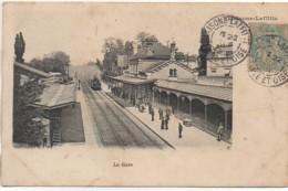 78 MAISONS-LAFFITTE  La Gare - Estaciones Con Trenes