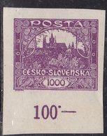 Cecoslovacchia, 1919 - 1000h Hradcany At Prague - Nr.40 MLH * - Neufs