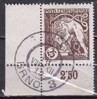 Cecoslovacchia, 1919 - 25h Bohemian Lion Breaking Its Chain - Nr.B125 Usato° - Tchécoslovaquie