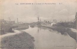 52 - SAINT DIZIER / LE CANAL ET LE PORT DE LA NOUE - Saint Dizier