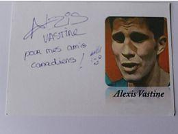 Alexis VASTINE - Thaï - Signé / Dédicace Authentique / Autographe - Boksen