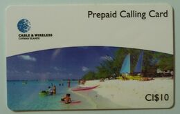CAYMAN ISLANDS - Prepaid - CAY-P1A - CAY 01 - Seven Mile Beach - CI$10 - Mint - RRR - Cayman Islands