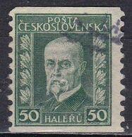 Cecoslovacchia, 1926/27 - 50h President Masaryk - Nr.125 Usato° - Usati