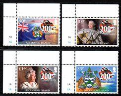 ASCENSION 1149/52 HM Queen Elizabethh II, Tortue, Armoiries, Flag - Royalties, Royals