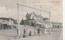 50--ST PAIR SUR MER---LA CASINO ET LA PLAGE--VOIR SCANNER - Saint Pair Sur Mer