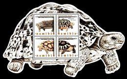 (098) Namibia (SWA) / Namibie  Animals / Turtle Sheet / Bf / Bloc Animaux / Tortues / Schildkröten ** / Mnh Michel BL 87 - Ohne Zuordnung