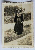 Photographie Ancienne Jeune Femme Bretonne Coiffe Et Costume Traditionnel Bretagne Morbihan ?? - Persone Anonimi