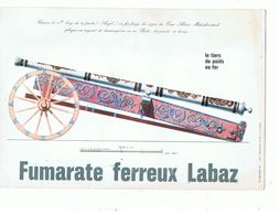 Buvard Fumarate Ferreux Labaz Canon Long De 17 Pieds - Transport