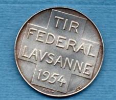 SVIZZERA - LAUSANNE TIR FEDERAL 1954 - GENERALE HENRI GUISAN - Professionals / Firms