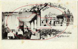 Kursaal 1 Ste - Terras - Hotel Royal Belge.  Oostende - Ostende - Ostend (Doos 2) - Oostende