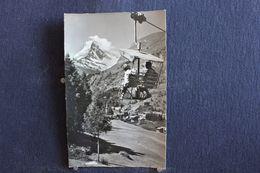 "TO - 196 - Sesselbähn Zermatt - Sunnegga Mit Matterhorn - Rstaurant "" Sunnegga "" - Pas Circulé - VS Valais"
