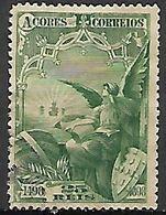 ACORES   -   1898.    Y&T N° 93 Oblitéré - Açores