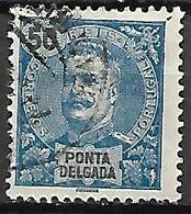 PONTA  DELGADA     -    1897.   Y&T N° 22 Oblitéré - Ponta Delgada