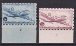 Belgie Plaatnr  Luchtpost YT** 8/11 - ....-1960