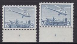 Belgie Plaatnr  Luchtpost YT** 25 - ....-1960