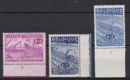 Belgie Plaatnr  Dientzegels YT** 42-46 - ....-1960