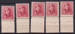 Belgie Plaatnr  YT** 165-778 - ....-1960
