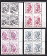 Belgie Plaatnr  YT** 1877-1880,1 - 1971-1980