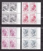 Belgie Plaatnr  YT** 1877-1880,2 - 1971-1980