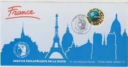 155 Carte Officielle Exposition Internationale Exhibition Paris 1998 France FDC FIFA Coupe Monde Football World Cup - Fußball-Weltmeisterschaft