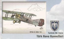 Turkey, TR-C-099, Turkish Air Force, Spad-21 1926-?, Airplane, 2 Scans. - Türkei