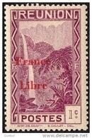 Réunion - N° 218 * Vue -> Bras Des Demoiselles - Emission Surchargée France Libre - Nuevos