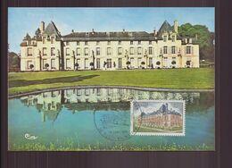 """France, Carte Maximum Du 10 Avril 1976 à Rueil-Malmaison """" Le Château De La Malmaison """" - 1970-79"""